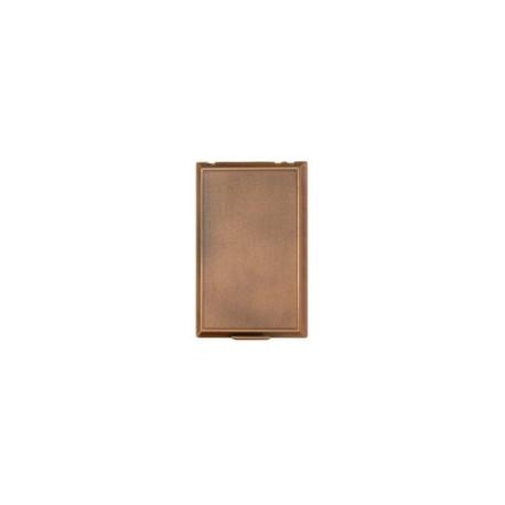 zásuvka celopl. kov bronz