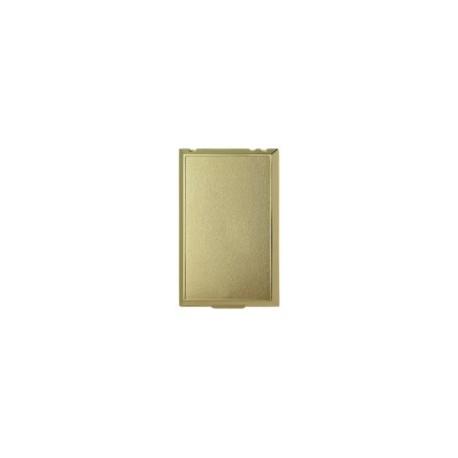 zásuvka celopl. kov zlatá